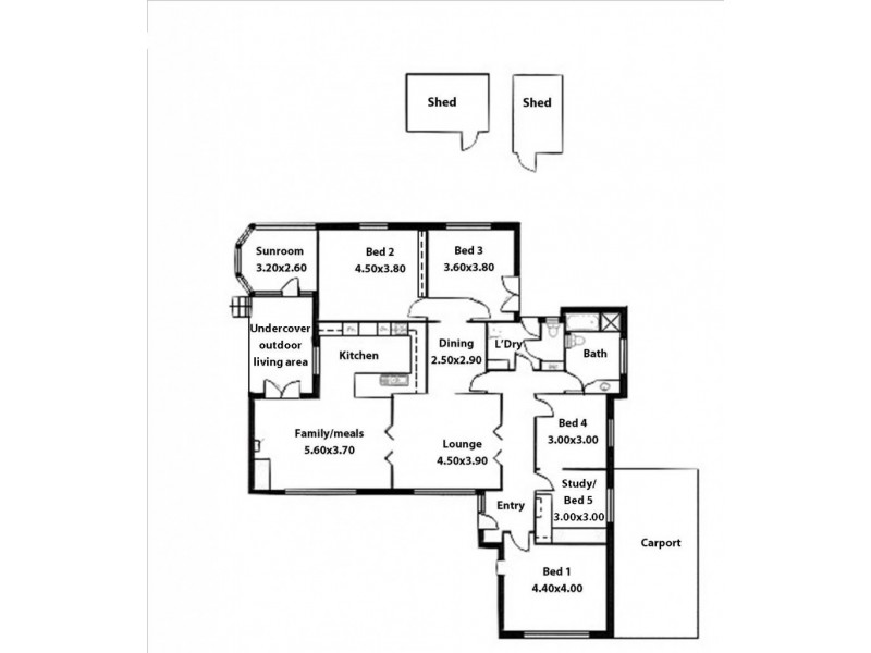 3 Iona Avenue, Woodforde SA 5072 Floorplan