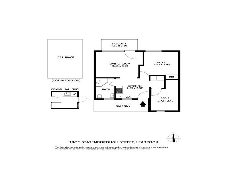 10/15 Statenborough Street, Leabrook SA 5068 Floorplan