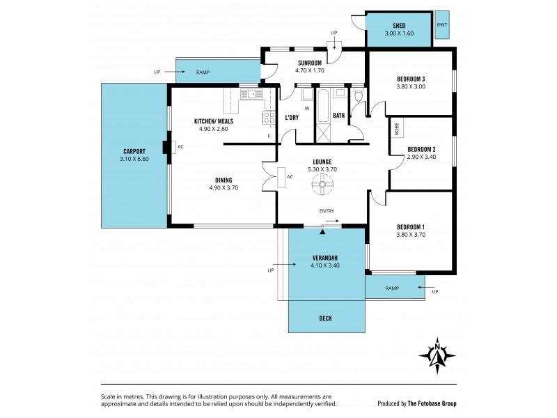 1A Bohun Place, Moana SA 5169 Floorplan
