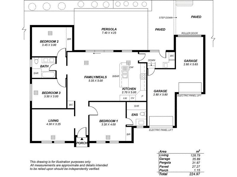 2/55 Oakridge Road, Aberfoyle Park SA 5159 Floorplan