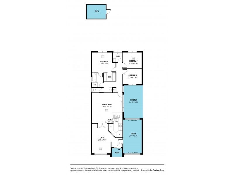 46A Glenthorn Crescent, O'halloran Hill SA 5158 Floorplan