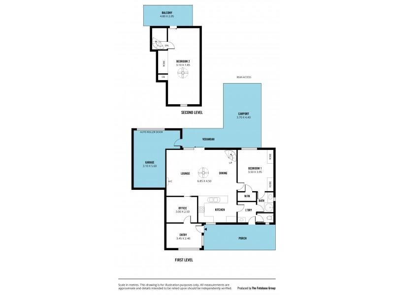 88 Second Avenue, Moana SA 5169 Floorplan