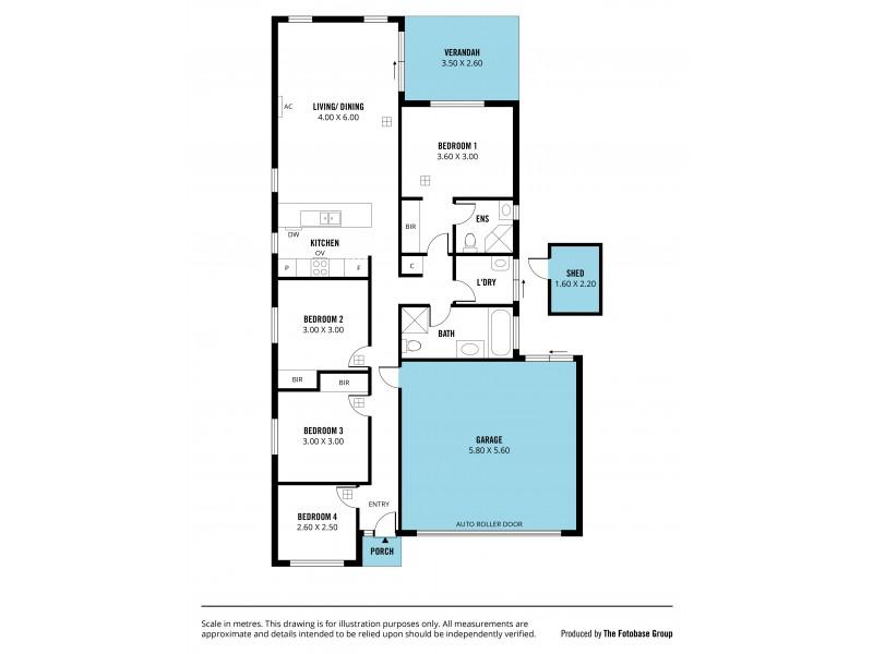 28 Yarr Crescent, Seaford Meadows SA 5169 Floorplan