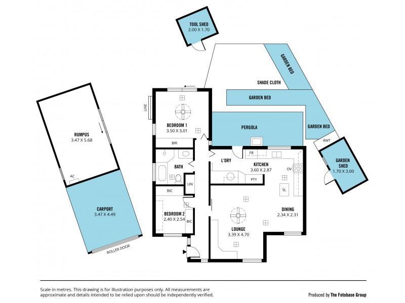 31 The Lane, O'halloran Hill SA 5158 Floorplan