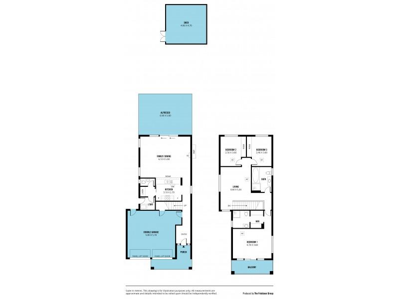 35 Cambridge Street, Port Noarlunga South SA 5167 Floorplan