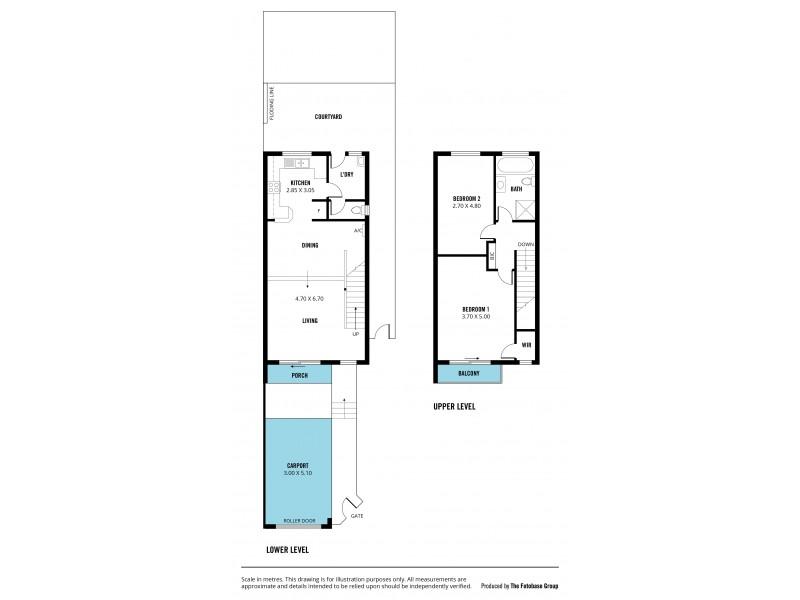3/41 Central Avenue, Hallett Cove SA 5158 Floorplan