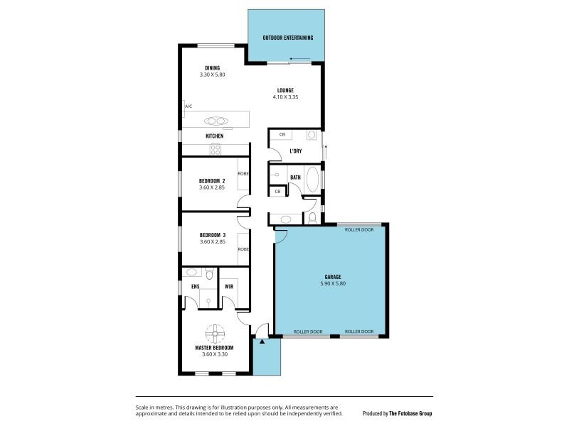 13 Mizzen Court, Seaford Meadows SA 5169 Floorplan