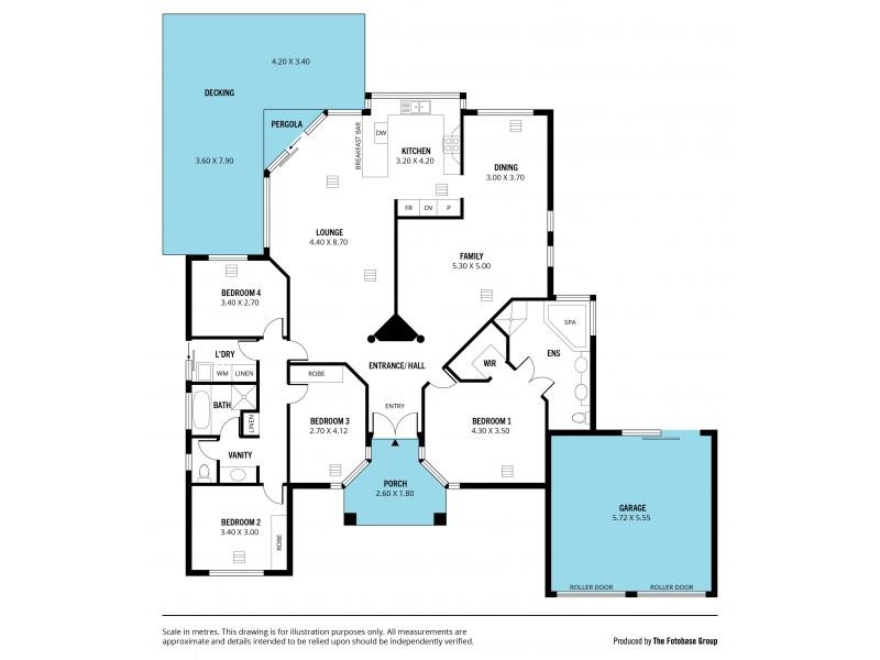 6 Ingleton Drive, Hallett Cove SA 5158 Floorplan