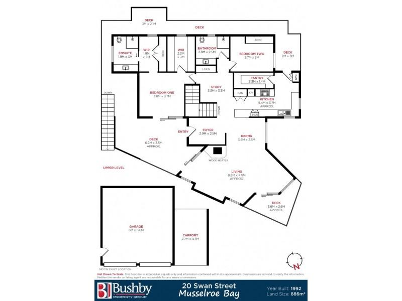 20 Swan Street, Musselroe Bay TAS 7264 Floorplan