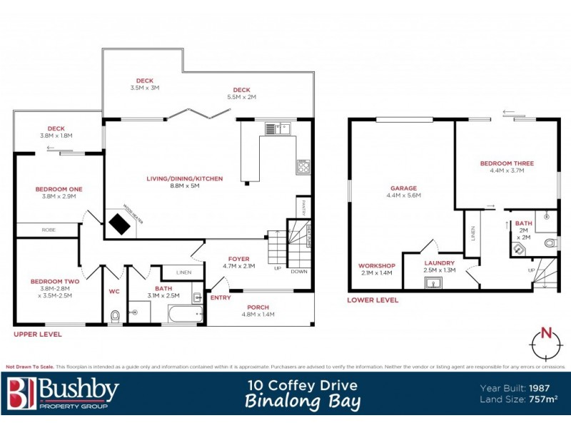 10 Coffey Drive, Binalong Bay TAS 7216 Floorplan