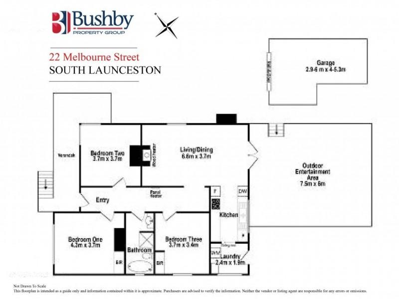 22 Melbourne Street, South Launceston TAS 7249 Floorplan