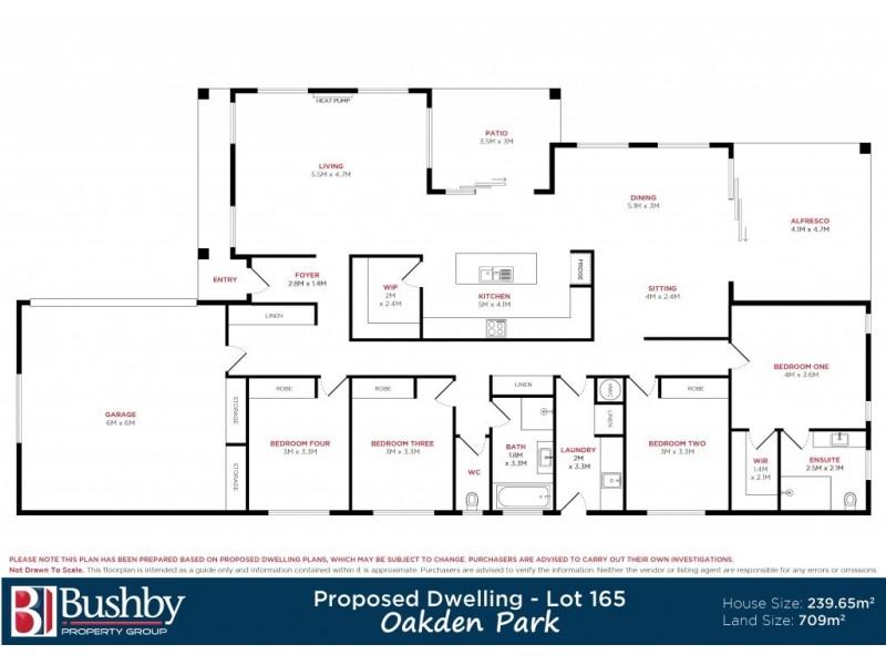 Lot 165 Enterprize Drive, Youngtown TAS 7249 Floorplan