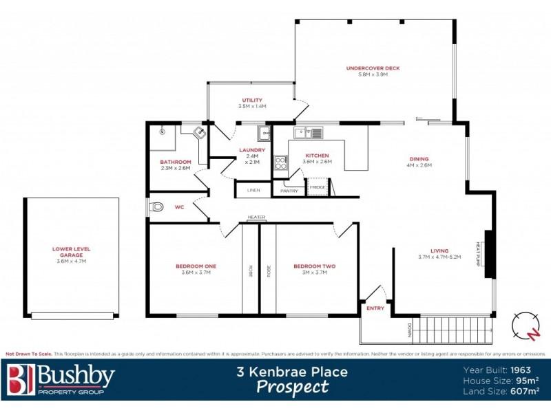 3 Kenbrae Place, Prospect TAS 7250 Floorplan