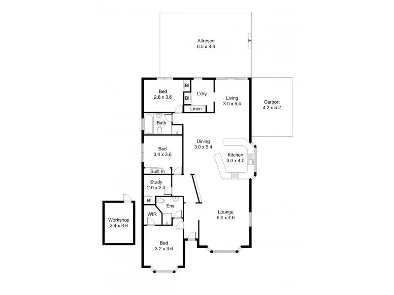 18A Tower Hill Street, Deloraine TAS 7304 Floorplan