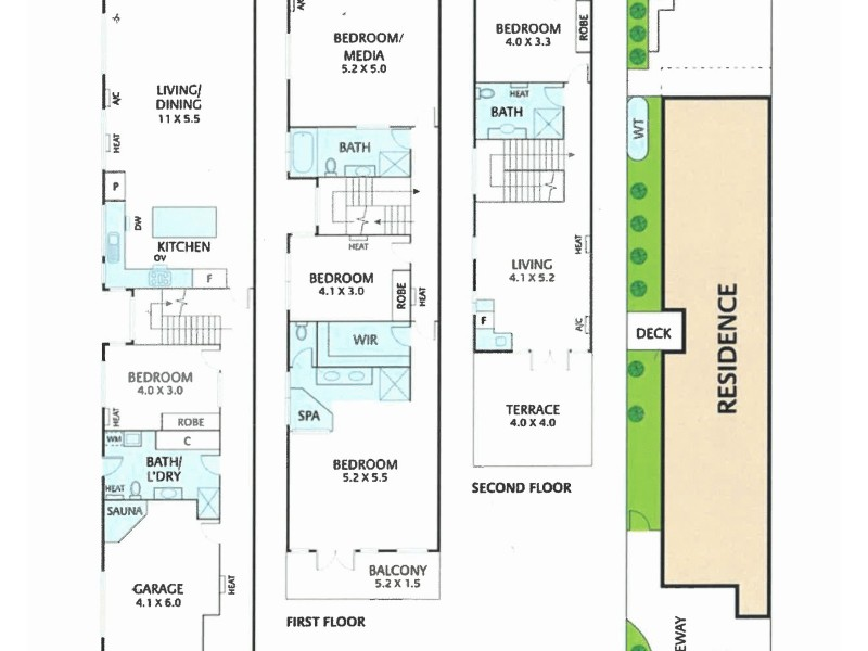 81a Victoria Street, Brunswick East VIC 3057 Floorplan