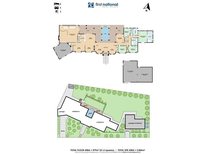 33-35 Timberside Drive, Beaconsfield VIC 3807 Floorplan