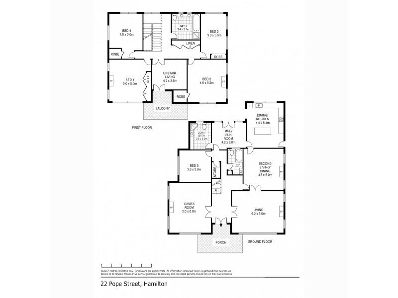 22 Pope Street, Hamilton VIC 3300 Floorplan