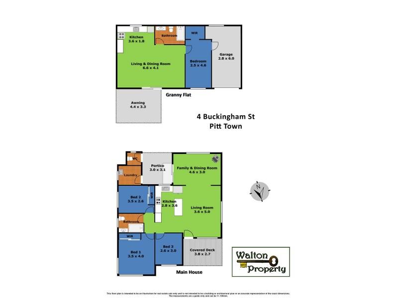 4 Buckingham Street, Pitt Town NSW 2756 Floorplan
