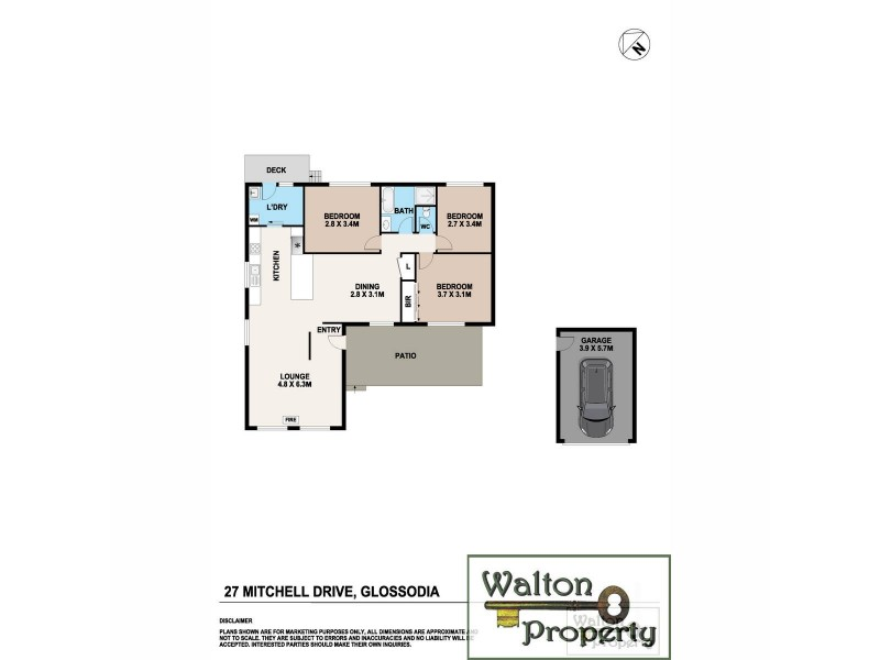 Glossodia NSW 2756 Floorplan