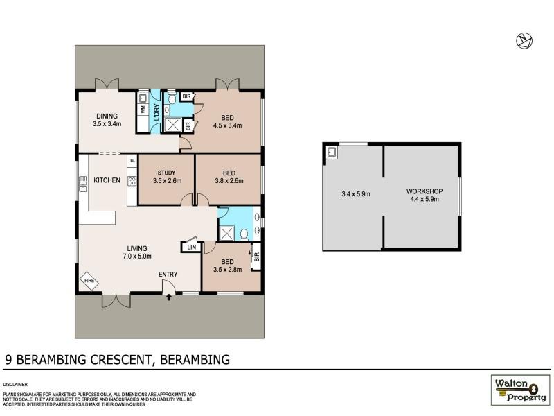 9 Berambing Crescent, Berambing NSW 2758 Floorplan