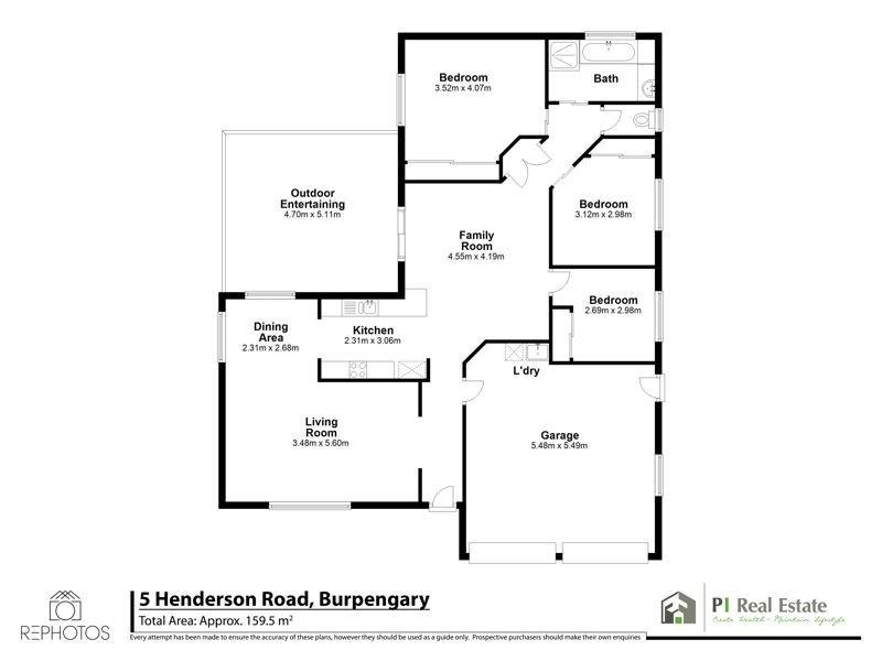 5 Henderson Road, Burpengary QLD 4505 Floorplan