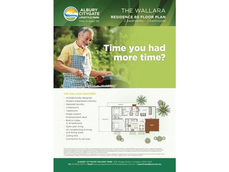 Residence 80 508 Wagga Road, Albury NSW 2640 Floorplan