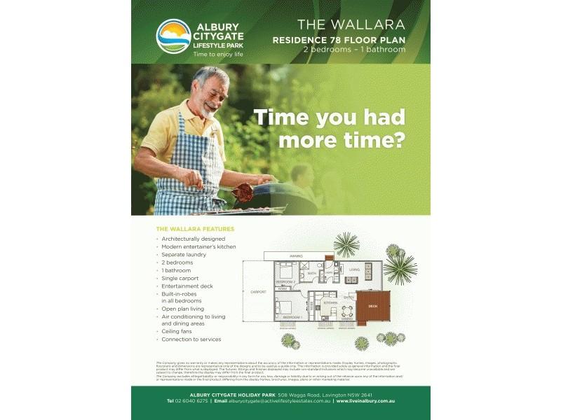 Residence 78 508 Wagga Road, Albury NSW 2640 Floorplan