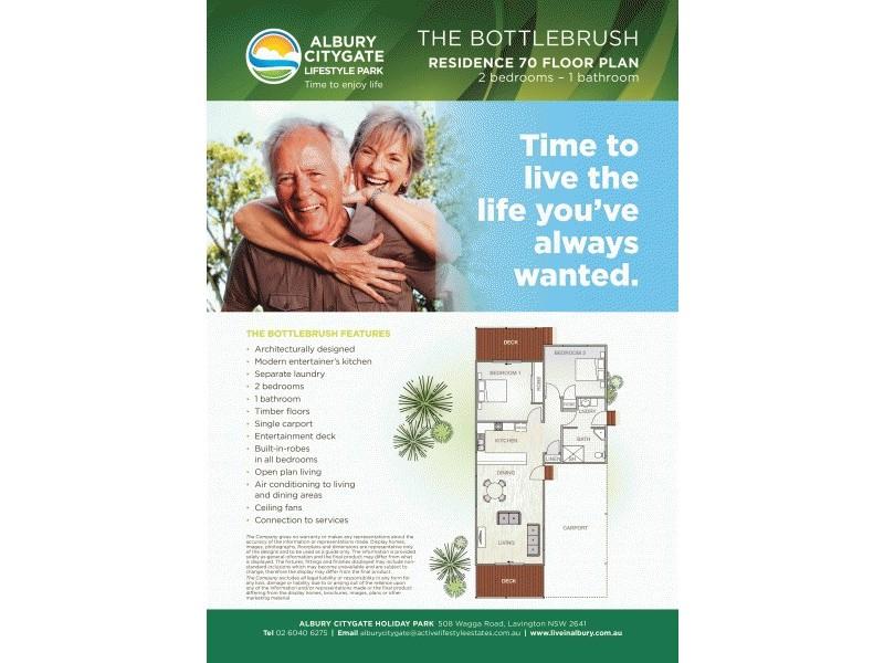 Residence 70 508 Wagga Road, Albury NSW 2640 Floorplan