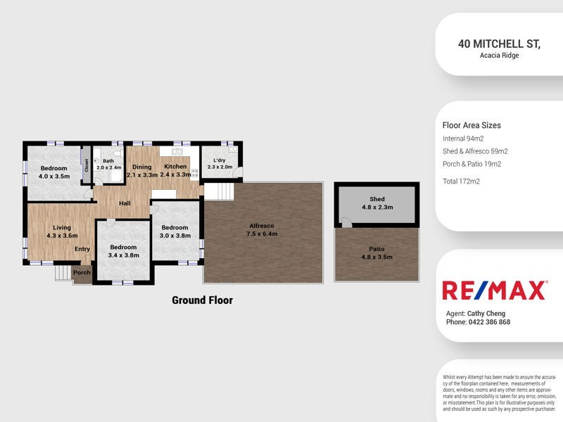 40 Mitchell Street, Acacia Ridge QLD 4110 Floorplan
