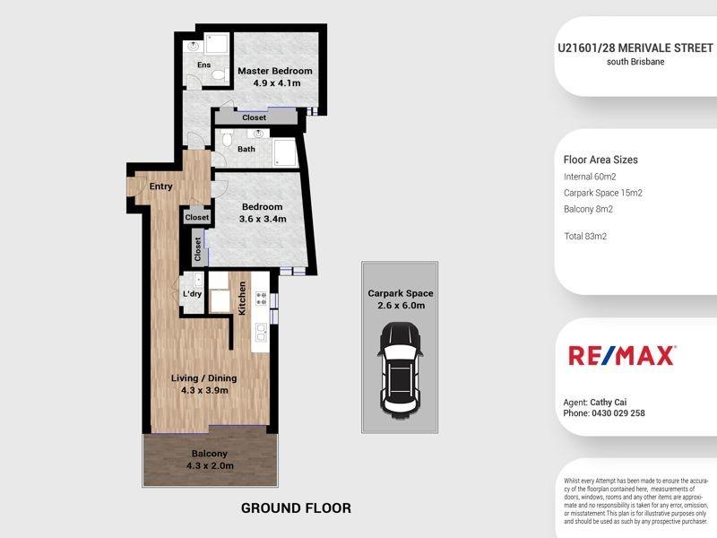 21601/22-28 Merivale Street, South Brisbane QLD 4101 Floorplan