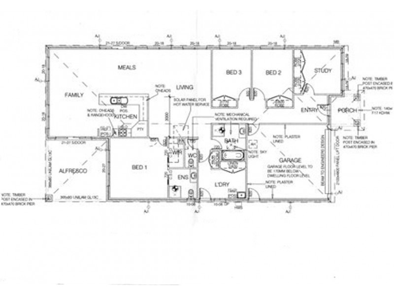 23 Sanctuary Boulevard, Maiden Gully VIC 3551 Floorplan
