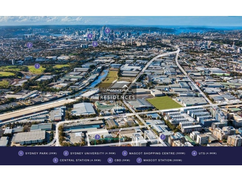 1205/6 GALLOWAY STREET, Mascot NSW 2020