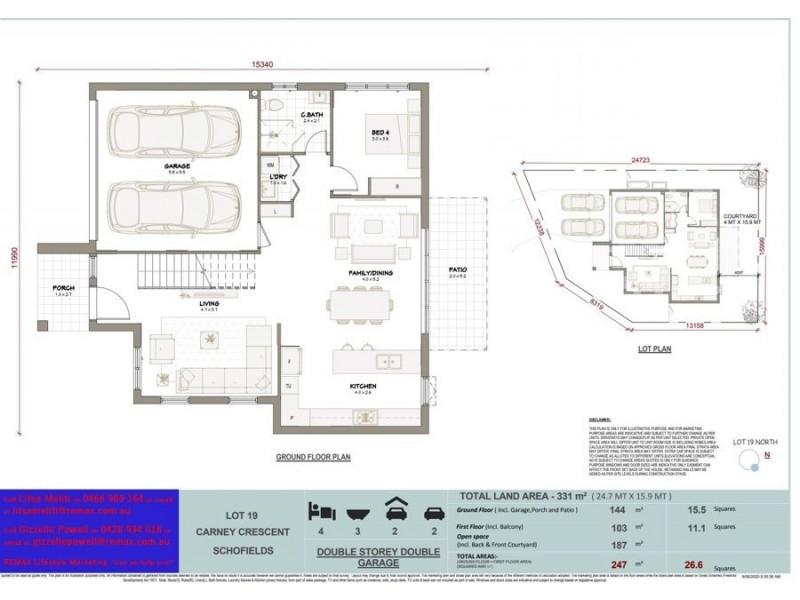 Schofields NSW 2762 Floorplan