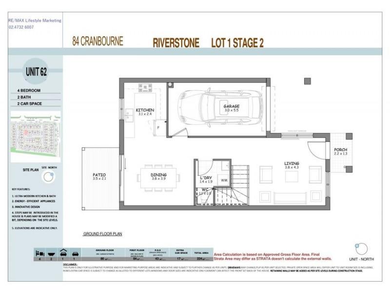 Riverstone NSW 2765 Floorplan