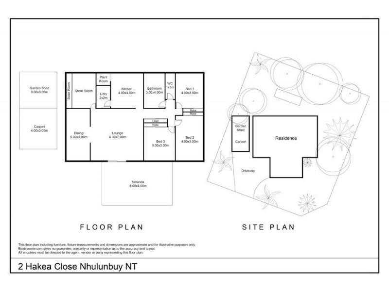 2 Hakea Close, Nhulunbuy NT 0880 Floorplan