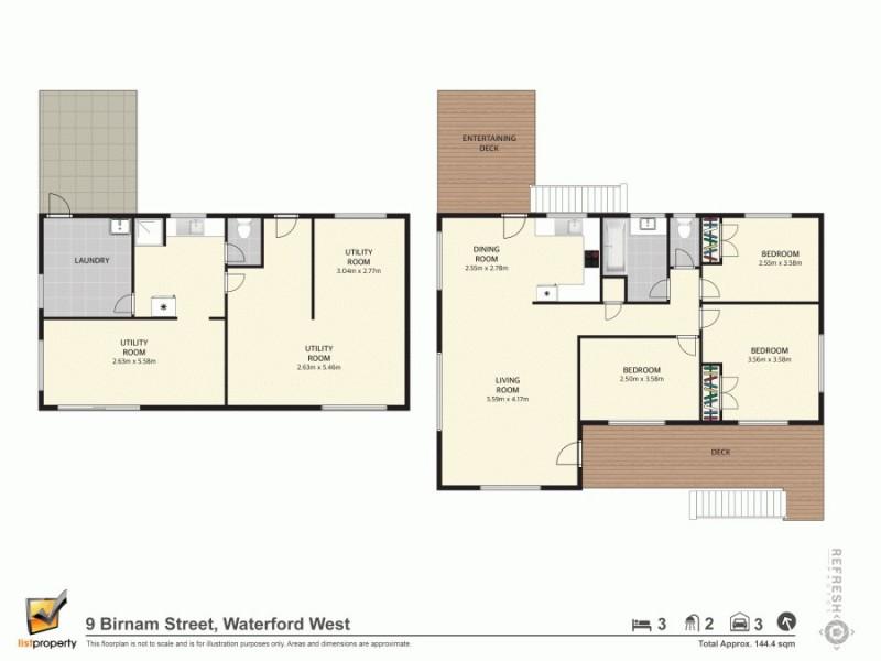 9 Birnam St, Waterford West QLD 4133 Floorplan