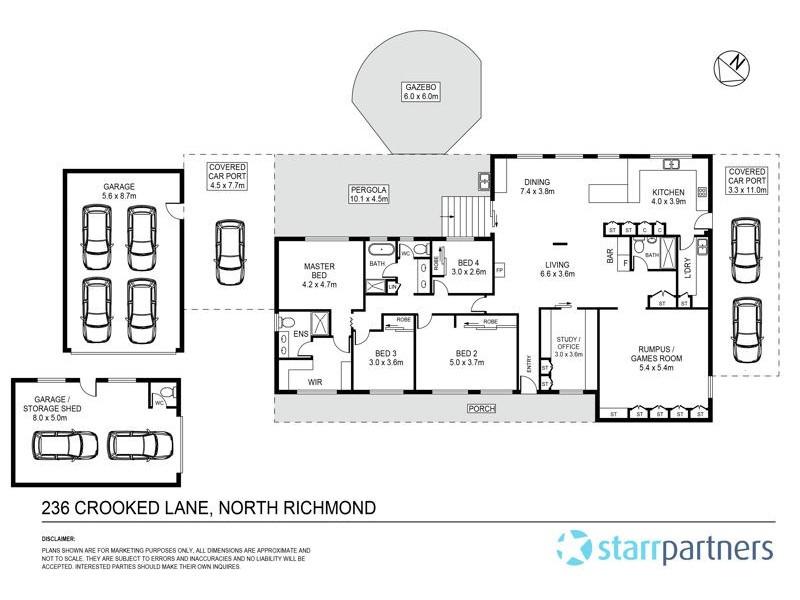 236 Crooked Lane, North Richmond NSW 2754 Floorplan