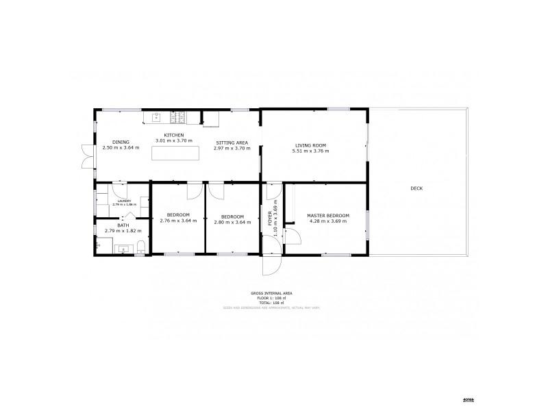 133 Abbotsfield Road, Claremont TAS 7011 Floorplan