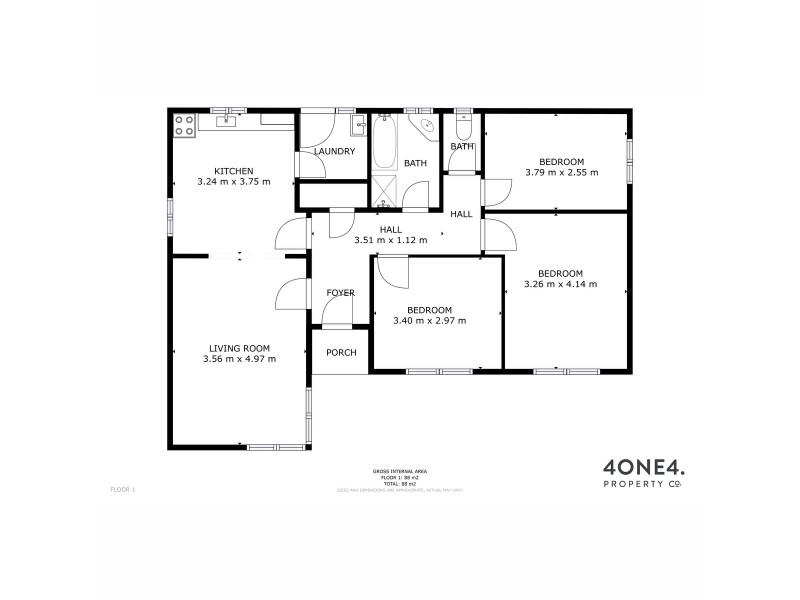 89 Lamprill Circle, Herdsmans Cove TAS 7030 Floorplan