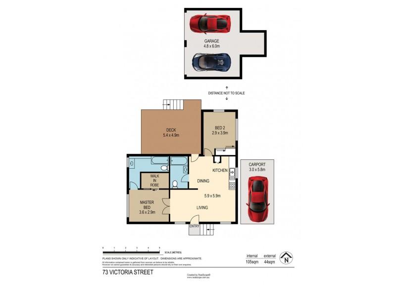 73 Victoria Street, Fairfield QLD 4103 Floorplan