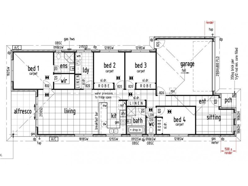 25 Oxford St, Pimpama QLD 4209 Floorplan