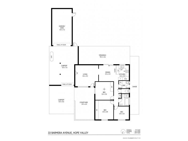 33 Barmera Avenue, Hope Valley SA 5090 Floorplan
