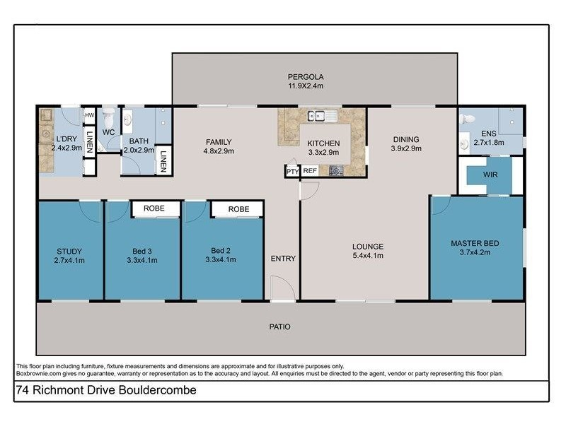 74 Richmont Dr, Bouldercombe QLD 4702