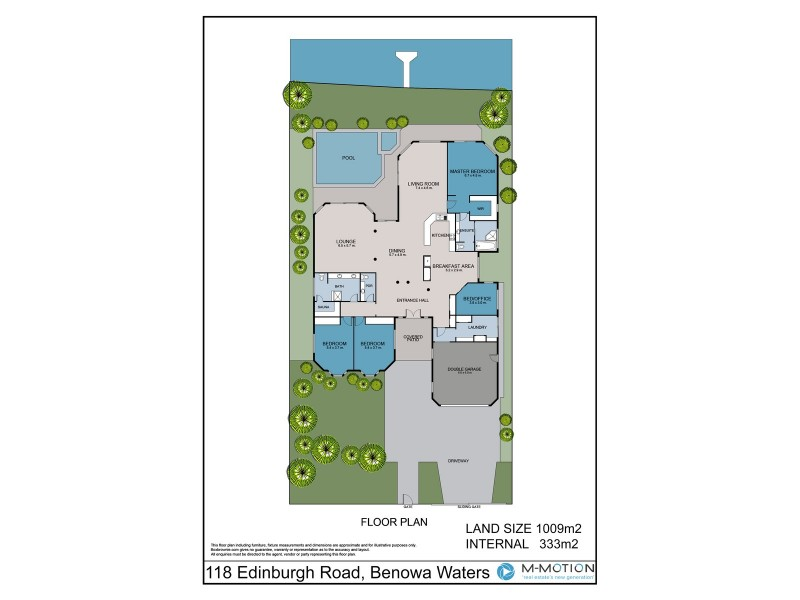 118 Edinburgh Road, Benowa Waters QLD 4217 Floorplan