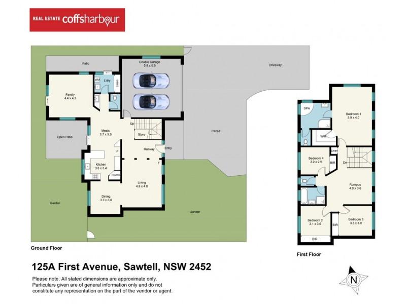 125A First Avenue, Sawtell NSW 2452 Floorplan