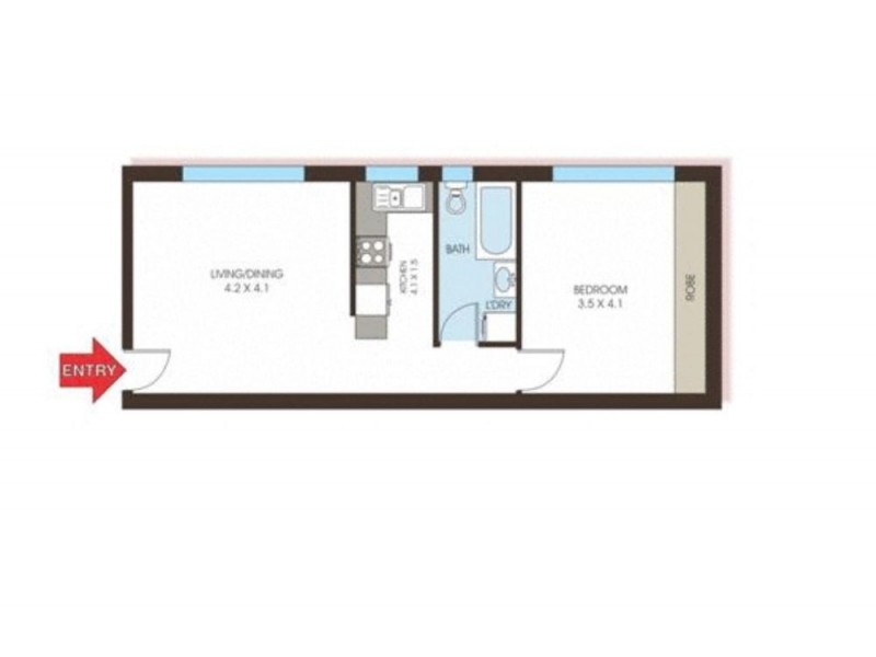 28/559 Anzac Parade, Kingsford NSW 2032 Floorplan