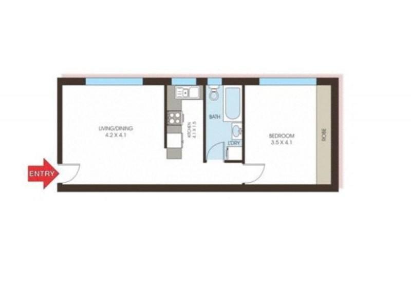 28/559 Anzac Parade, Kingsford NSW 2032 Floorplan