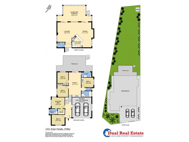 1251 Anzac Parade, Chifley NSW 2036 Floorplan
