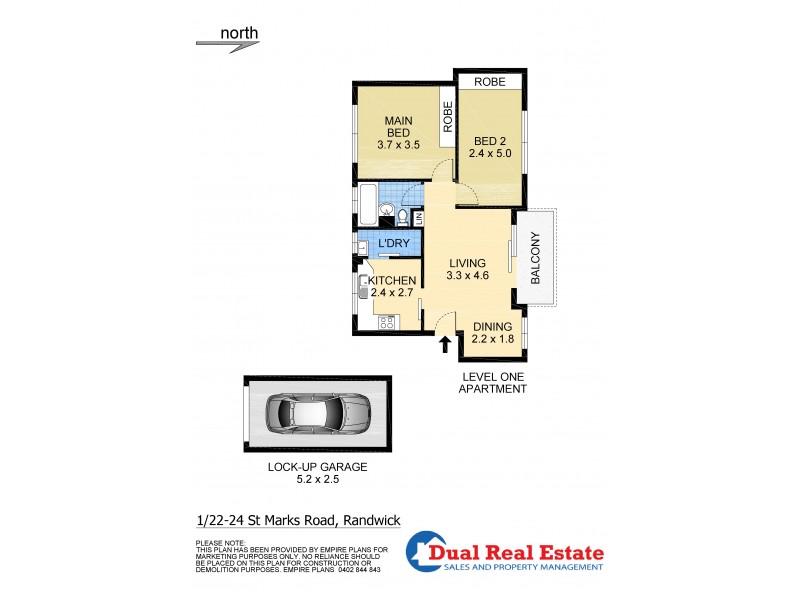 1/22-24 St Marks Road, Randwick NSW 2031 Floorplan