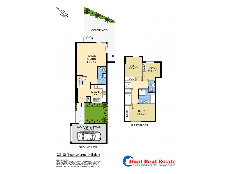 9/2-10 Nilson Avenue, Hillsdale NSW 2036 Floorplan